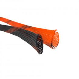 Змеиная оплетка 0Ga оранжевая DL Audio
