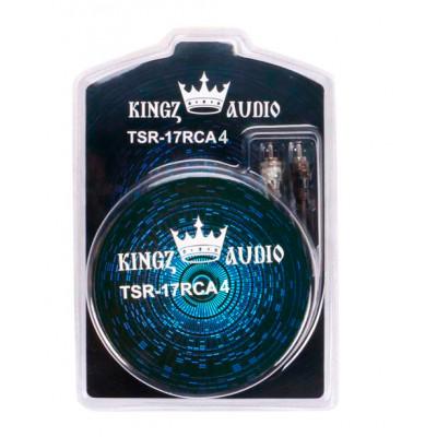 Кабель межблочный Kingz Audio TSR-17RCA 4ch