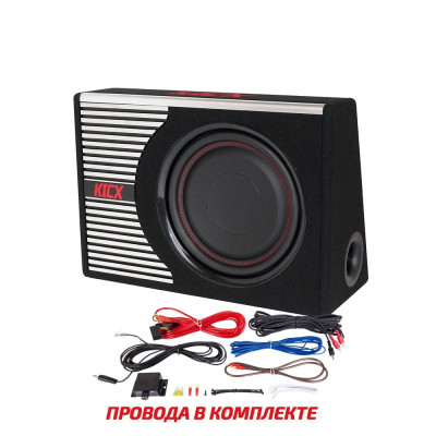 Сабвуфер активный Kicx GT403BPA