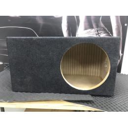 Короб для сабвуфера 15 дюймов экспо порт (МДФ, 2 стенки)