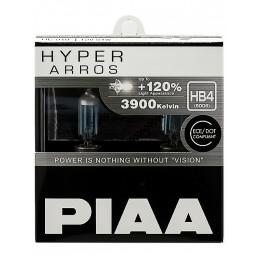 Лампа галогеновая PIAA HYPER ARROS HB4 3900K 12V 55W (100W) - 2 ШТ