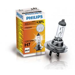 Лампа галогеновая Philips H7 Vision +30%