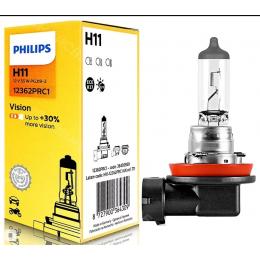 Лампа галогеновая Philips H11 Vision +30%