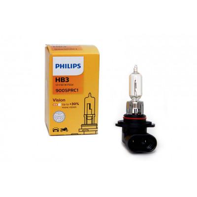 Лампа галогеновая Philips HB3 Vision +30%