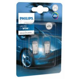 Лампы диодные Philips LED T10 Ultinon Pro3000