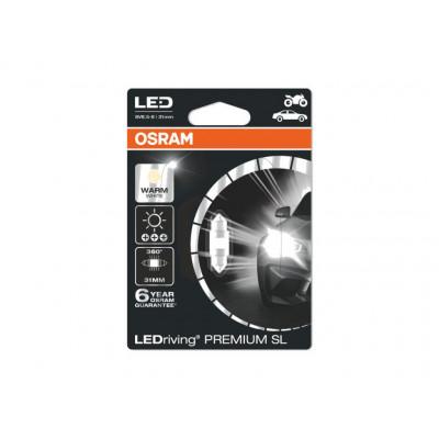 Лампа диодная Osram LEDriving Standart Cool White 31mm