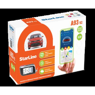 Сигнализация StarLine A93 v2 2CAN+2LIN ECO