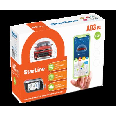 Сигнализация StarLine A93 v2 ECO