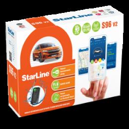 Сигнализация StarLine S96 v2 BT 2CAN-4LIN 2SIM GSM