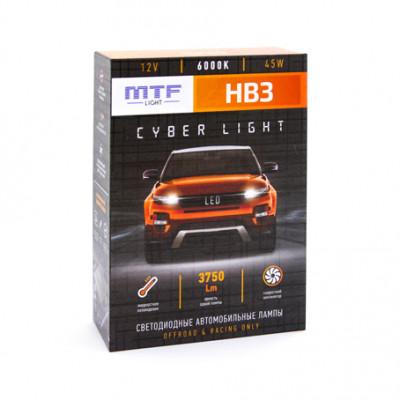 Светодиодные лампы MTF НB3 Cyber Light 6000К 3750lm